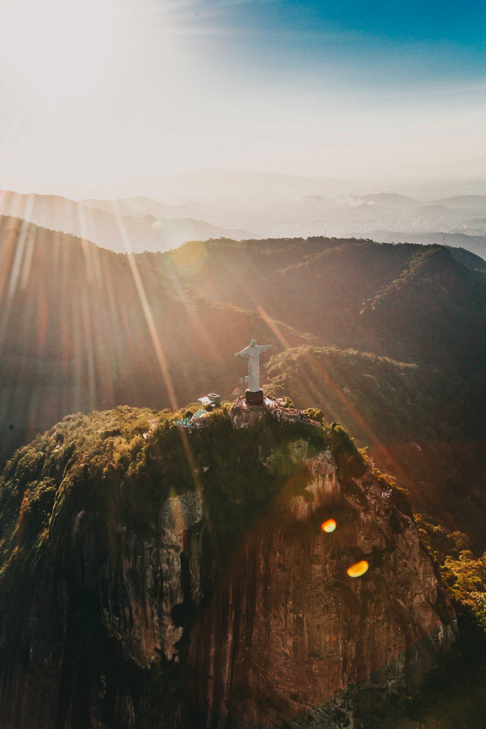 Christ the Redeemer in Rio de Janerio, Brazil