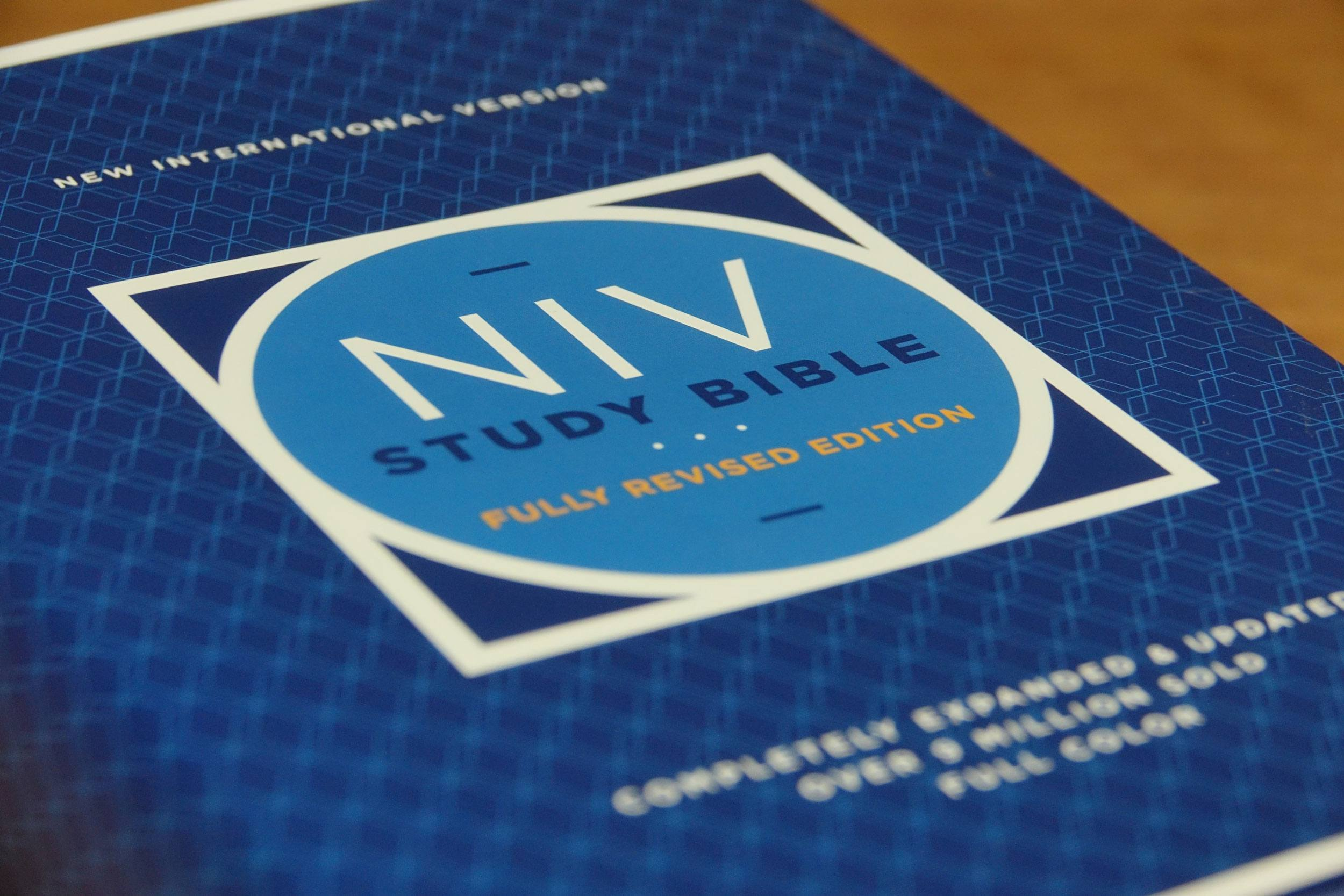 NIV Study Bible Fully Revised Edition cover