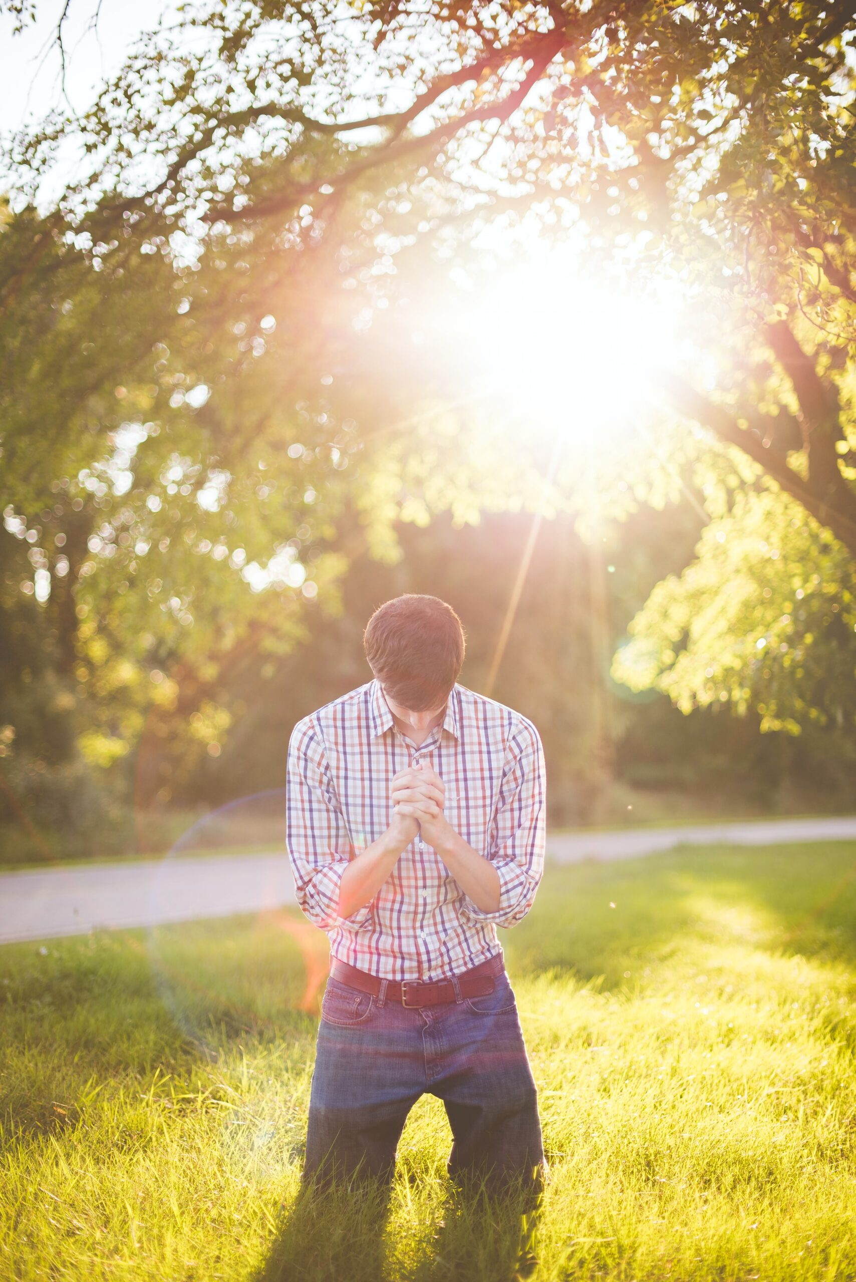 Praying daily can help you through many issues